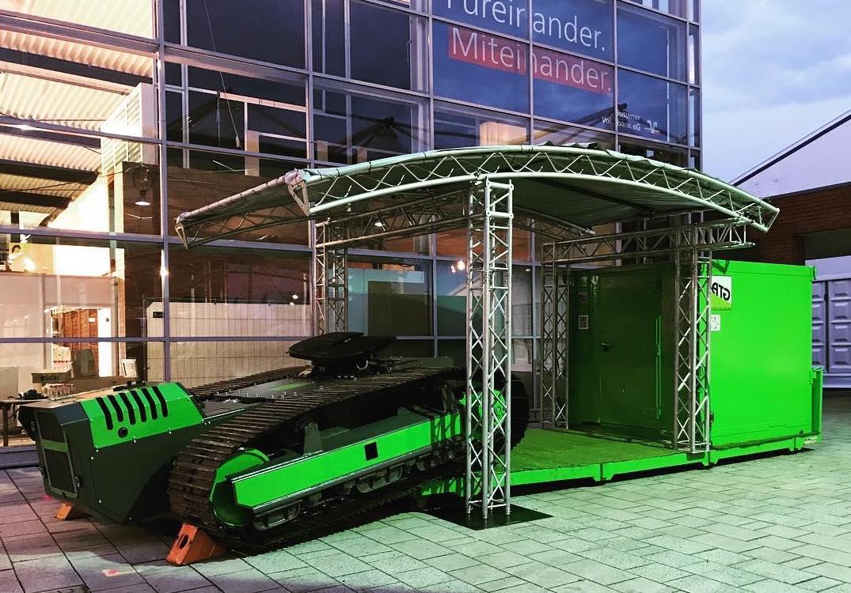 ACROSS THE GROUND ATG Husum Wind & Energy 2017 heavy load crawler transport