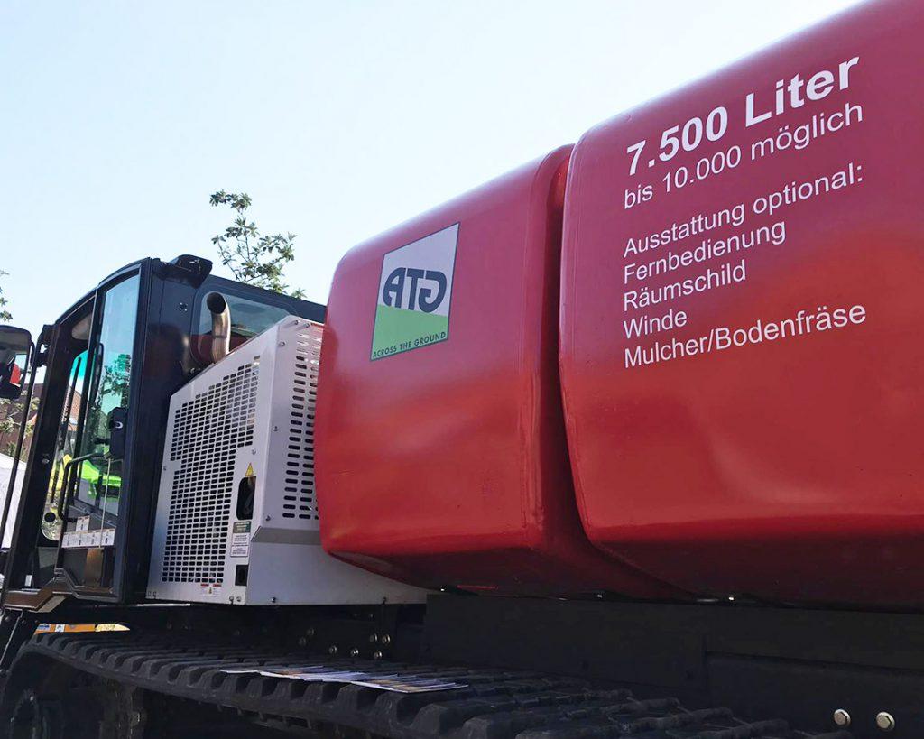 ATG Across The Ground Wipfelfeuer 2019 Feuer löschen